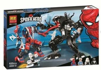 Конструктор Супергерои Человек-паук против Венома 625 деталей BELA 11188