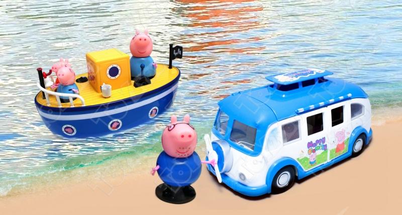 Большой игровой набор «Рыбалка свинки Пеппа»