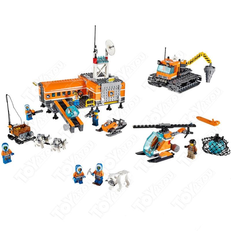 Конструктор City арктическая база 783 деталей 60036 BELA 10442