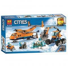 Конструктор City Арктический грузовой самолет 731 деталей 60196 10996