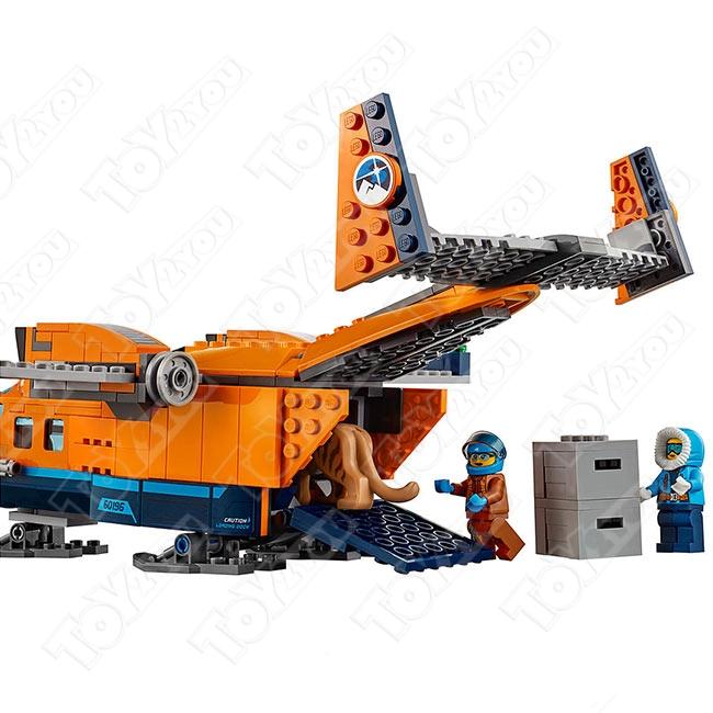 Конструктор City Арктический грузовой самолет 731 деталей 60196 BELA 10996