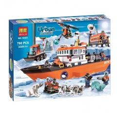 Конструктор City Арктический ледокол серии Urban Arctic 760 деталей 60062 10443