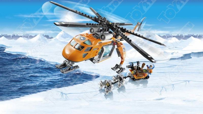 Конструктор City арктический самолет 391 деталей 60064 BELA 10441