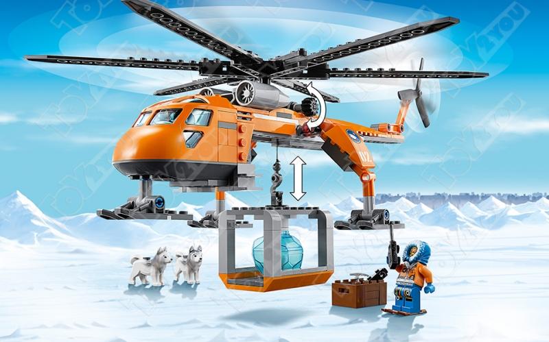Конструктор City арктический вертолет 273 деталей 60034 10439