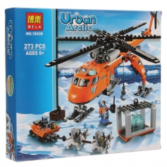 Конструктор City арктический вертолет 273 деталей 60034 BELA 10439