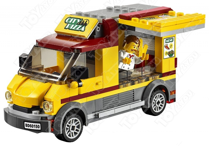 Конструктор City фургон пиццерия 261 деталей 60150 BELA 10648