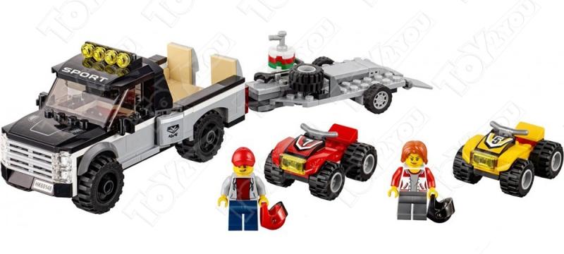 Конструктор City Гоночная команда 253 деталей 60148 BELA 10649
