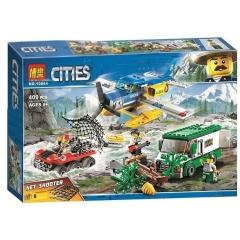 Конструктор City Ограбление у горной речки 409 деталей 60175 BELA 10864