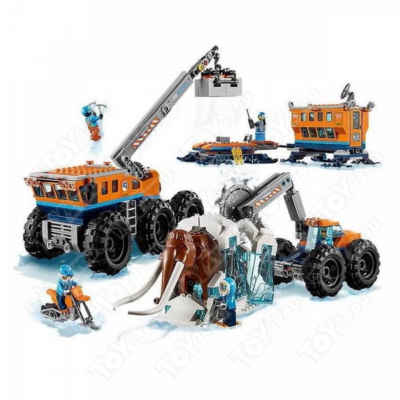 Конструктор City Передвижная арктическая база 804 деталей 60195 BELA 10997
