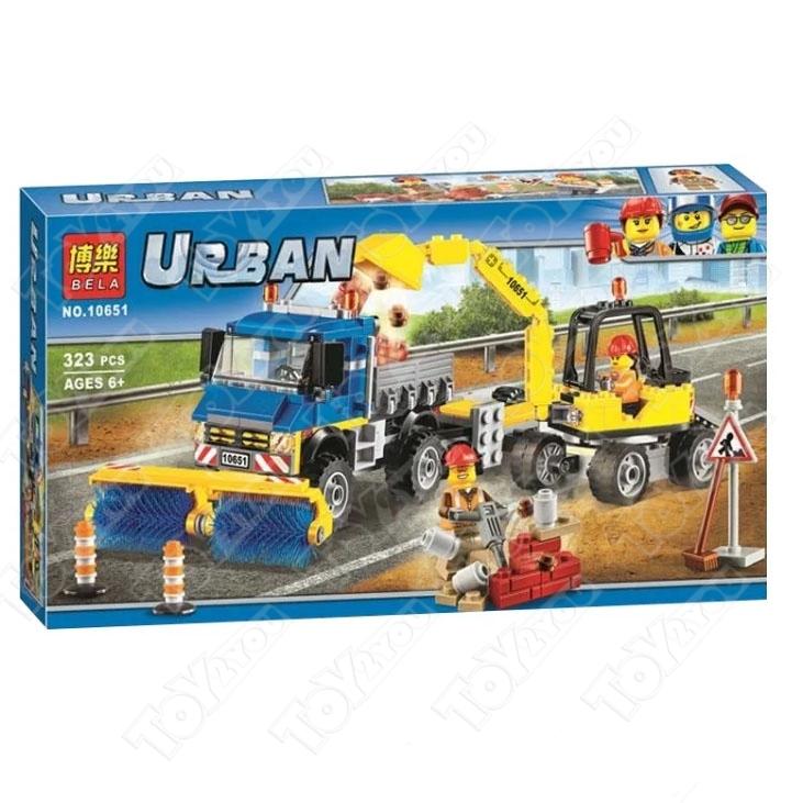 Конструктор City Строительная техника 323 деталей 60152 BELA 10651