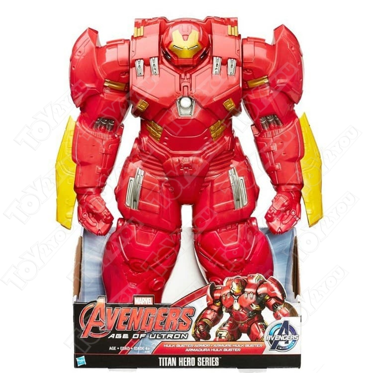 Фигурка Avengers Титаны Халкбастер интерактивный бронекостюм B1885 45 см. (открывающийся)