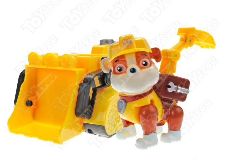 Набор игрушек Щенячий патруль (Paw Patrol) - 7 героев с машинками Премиум