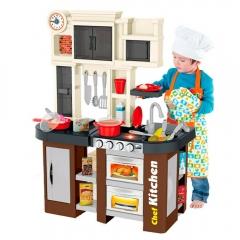 Детская кухня с буфетом Talented Chef Kitchen 922-102 58 аксессуаров (вода, свет, звук)