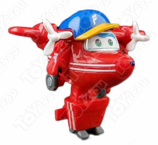 Набор игрушек трансформеров Супер Крылья (Super Wings) - Астра, Чейз, Тодд, Флип