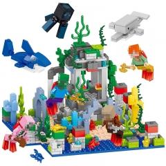 Конструктор MY World Подводное царство Майнкрафт 33248 BELA 33248(458 детали)