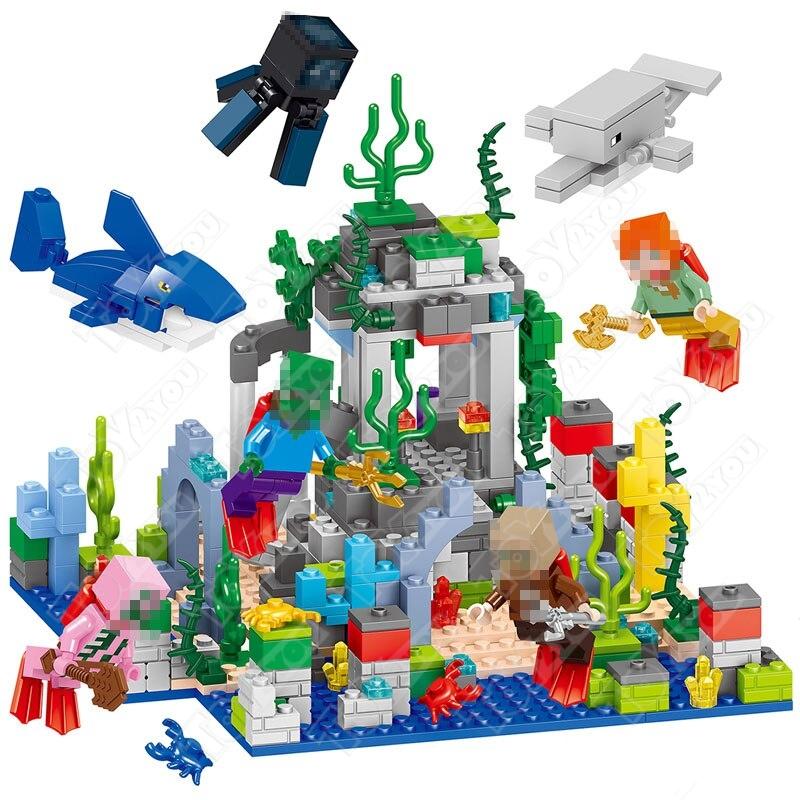 Конструктор MY World Подводное царство Майнкрафт 33248 LELE 33248 (458 детали)