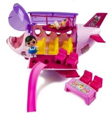 Самолет куколок ЛОЛ (LOL Surprise Plane)