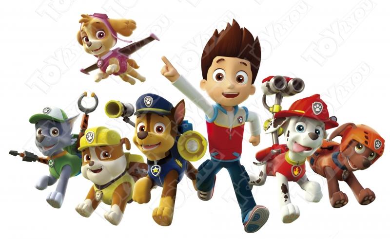 Набор игрушек Щенячий Патруль Воздушные спасатели + Райдер
