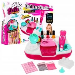 """Маникюрный набор для девочек """"Nail Art Studio"""" с сушкой для ногтей"""