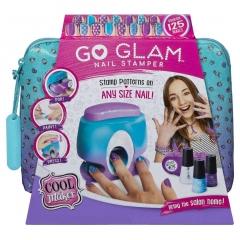 """Маникюрный набор """"Go Glam"""" с принтером для ногтей в Подарочный Косметичке"""