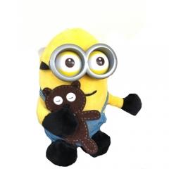 Мягкая игрушка Миньон с мишкой 18 см