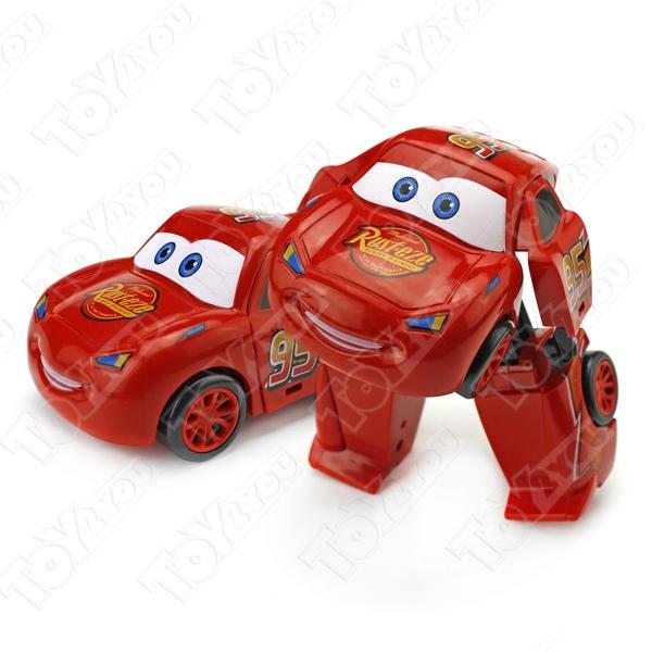 Игрушки Тачки (The Cars) - Полный набор героев-трансформеров 8 шт