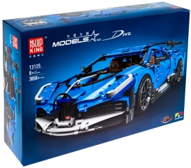 Конструктор Bugatti Divo — Бугатти Диво 3858 деталей (Mould King 13125)