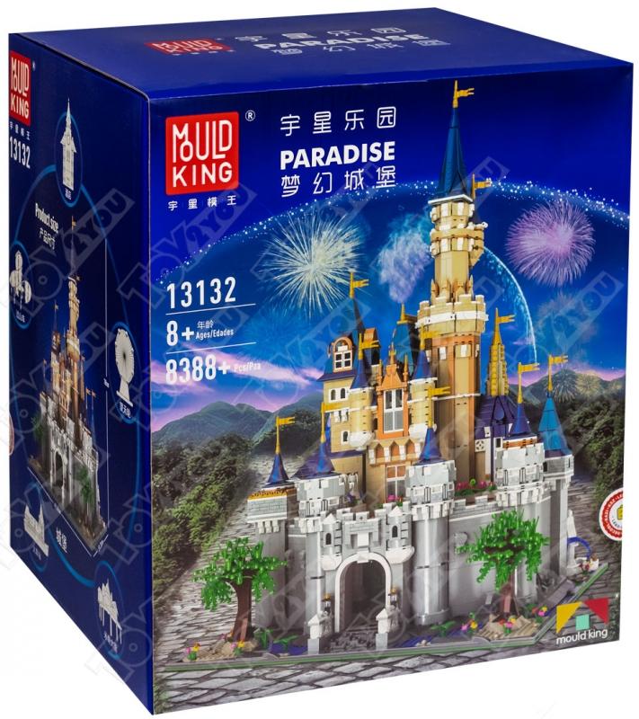 Конструктор Замок Диснея 8388 деталь MOULD KING 13132