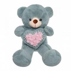 Мягкая игрушка Мишка с сердечком 85см
