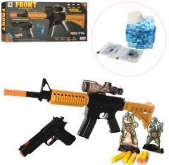 Винтовка с мягкими пульками и подставкой Bubble Bullet Gun