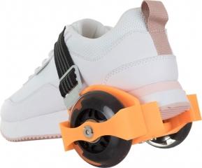 Ролики на обувь оранжевые