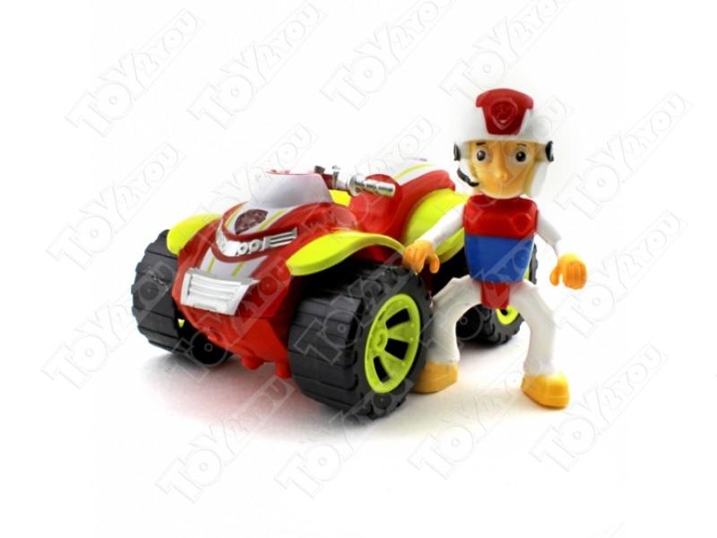 Набор игрушек Щенячий патруль воздушные спасатели - 7 героев с рюкзаками трансформерами и машинками.