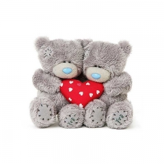 Мягкая игрушка Me to You Мишка Тедди с сердцем 10 см 2 шт
