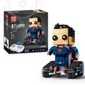 Конструктор Техникс Брикхеад Супермен 41610 Mould King Super Man 13038 (354 деталей) с ПДУ