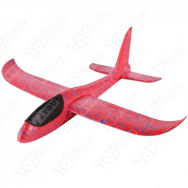 Самолет - Планер 36 см Красный