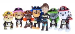 Набор игрушек Щенячий Патруль (Paw Patrol) Пожарная команда + Райдер