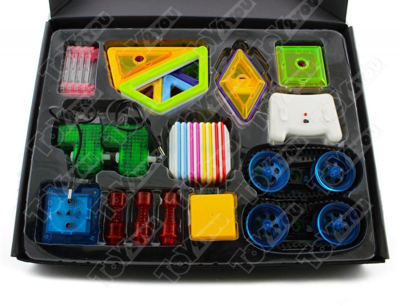 Магнитный конструктор Magical Magnet 58 деталей Радиоуправляемый