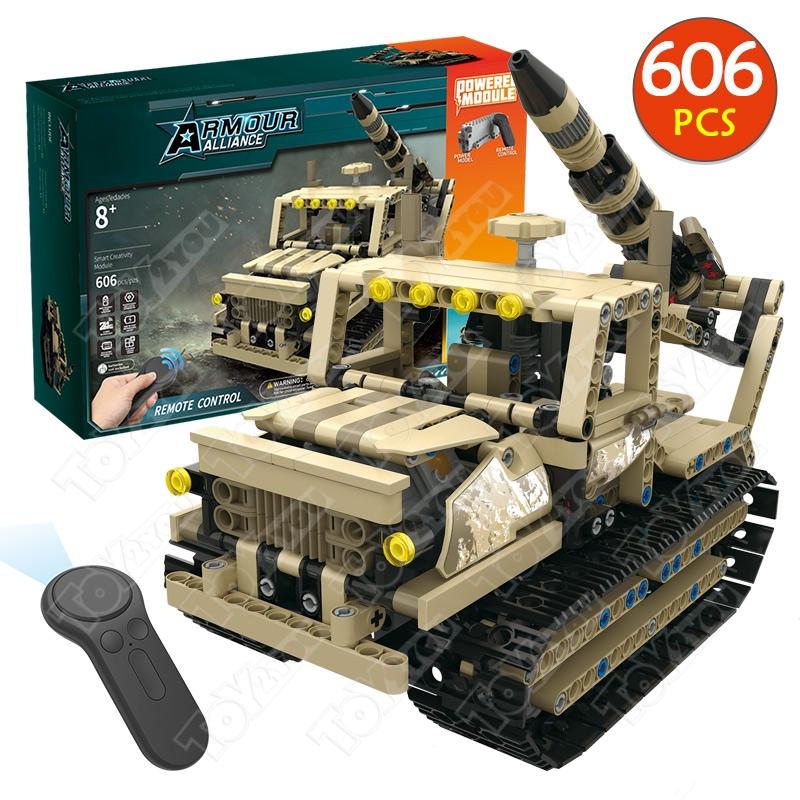 Конструктор Техникс Ракетная установка Mould King 13012 (606 деталей) с ПДУ