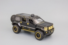 Модель автомобиля Rhino GX Executive (FORD F-450) чёрный глянцевый 1:32