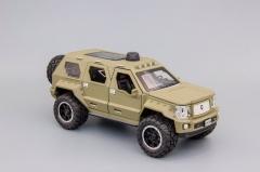 Модель автомобиля Rhino GX Executive (FORD F-450) зелёный,матовый 1:32