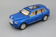 Металлическая инерционная Модель автомобиля Rolls Royce Cullinan 200х80 мм, синий