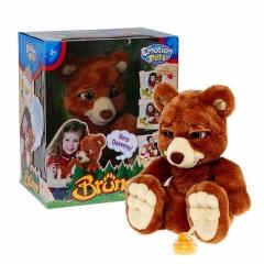 Мягкая игрушка Giochi Preziosi интерактивный мишка Бруно (Emotion Pets)