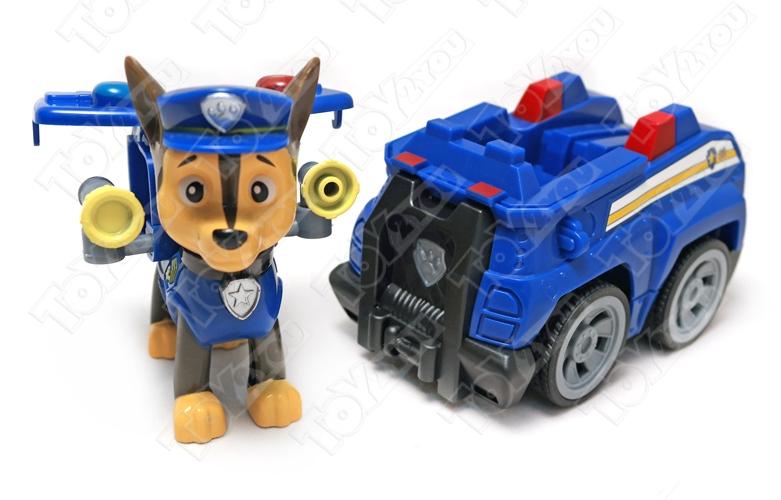 Набор игрушек Щенячий патруль (Paw Patrol) - 7 героев с машинками