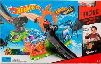 Трек Hot Wheel Color Shifter Прыжок через огненное кольцо (водный) 3094