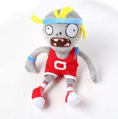Мягкая игрушка Plants vs Zombies Зомби спортсмен 30 см