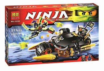 Конструктор НиндзяГо Бластер-байк Коула 211 деталей BELA NinjaGo 10394