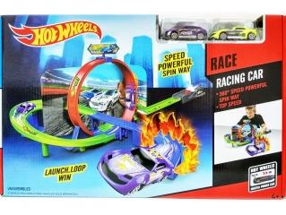 Игровой набор Двойная спираль Хот Вил (Hot Wheel)+ 2 машинки