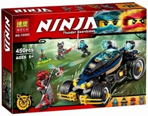 Конструктор НиндзяГо Самурай VXL 453 деталей BELA NinjaGo 10582