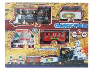 Детская железная дорога с электронным поездом CLASSIC TRAIN