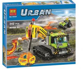 Конструктор Сити Вездеход исследователей вулканов 343 деталей (60122 City 10639)